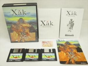 Caja y discos Juego XAK MSX2