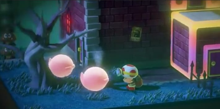 Captain Toad Treasure Tracker Fantasmas