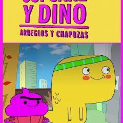 Cupcake y Dino, arreglos y chapuzas, serie infantil de Netflix