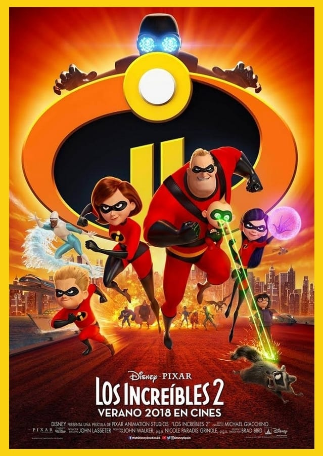 Estrenos en cine Vol.9 Los Increíbles 2