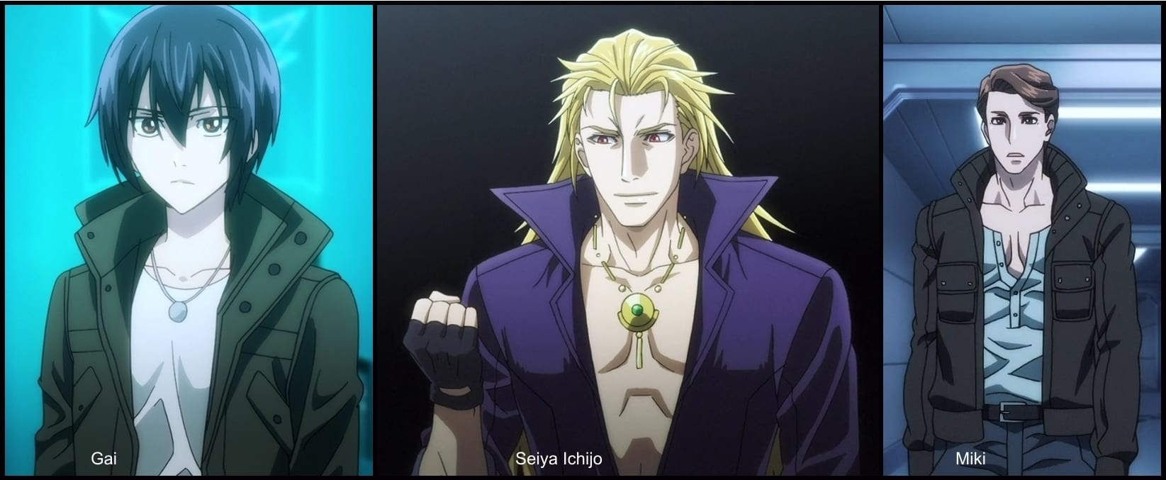 Sword Gai The Animation protagonistas