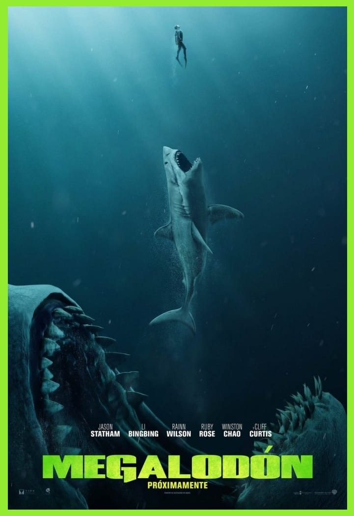 Película Megalodón estrenos en cine Vol.10