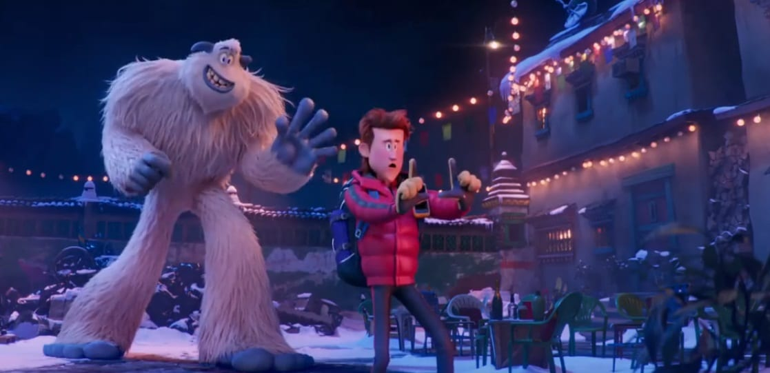 Smallfoot Migo y Percy