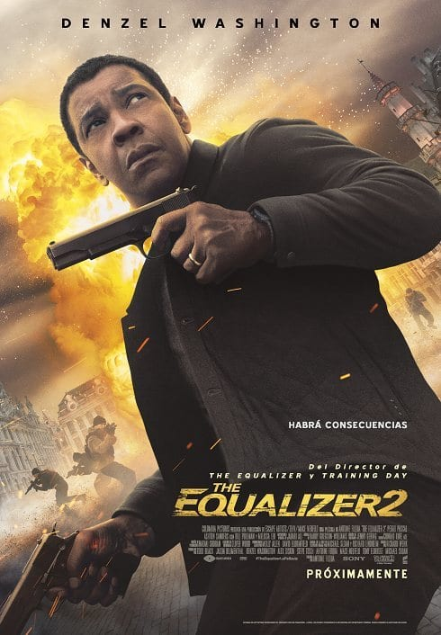 estrenos en cine Vol.10 The Equalizer 2