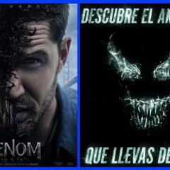 Película Venom estreno en cines en octubre.