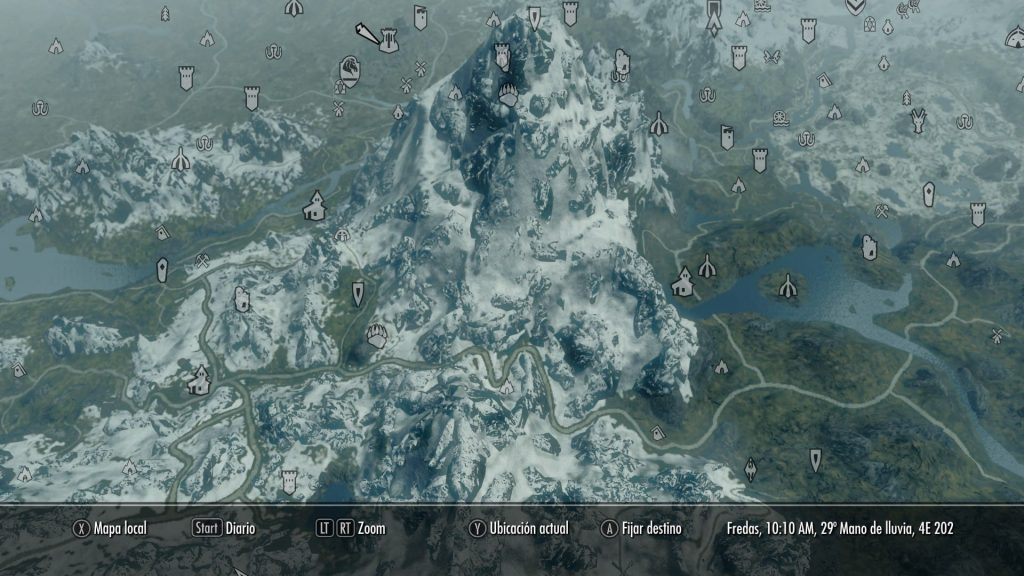 Skyrim A Quality World Map and Solstheim Map