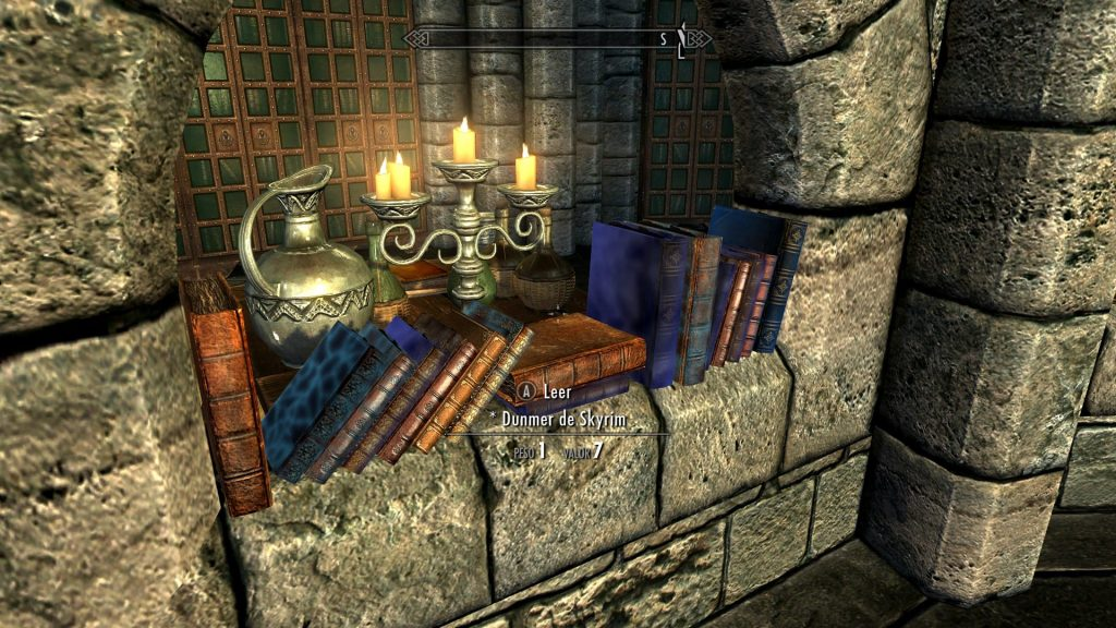 Skyrim Unread Books