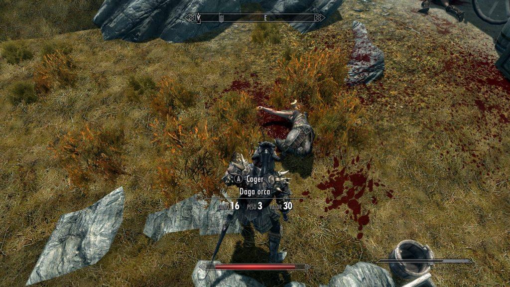Skyrim Enhanced Blood Textures