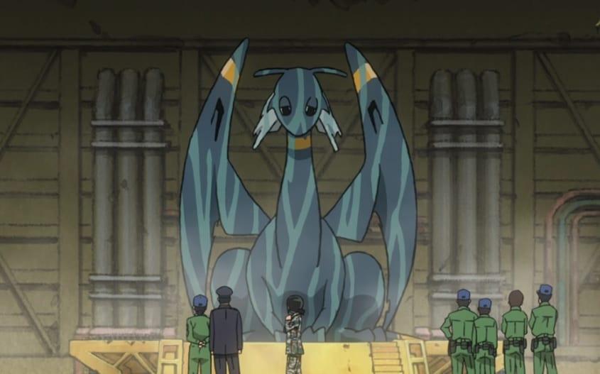 Hisone y Masotan, a lomos del dragón