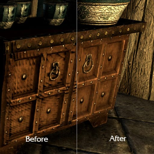 Skyrim shadow fix