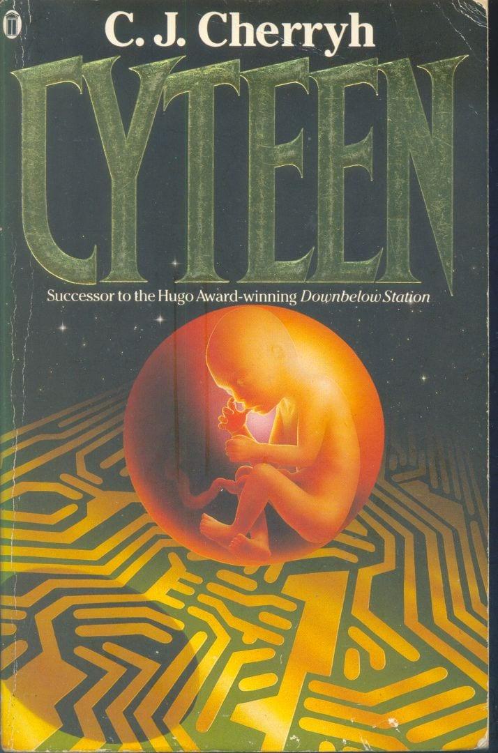 """Portada de la novela """"Cyteen"""" de C.J. Cherryh."""