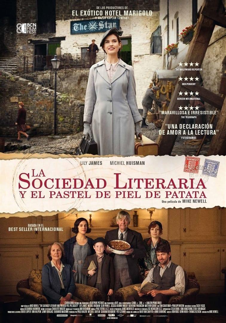 Estrenos de cine La Sociedad Literaria y el Pastel de Piel de Patata