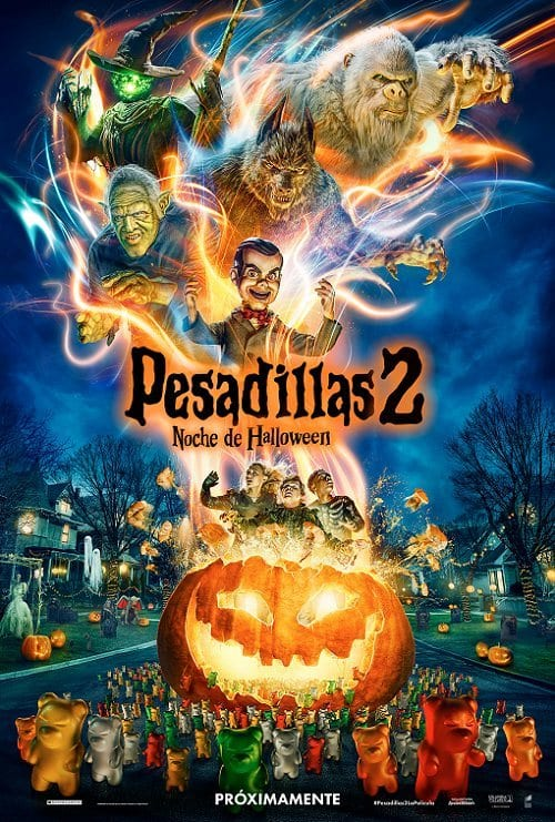 Estrenos de cine Pesadillas 2 Noche de Halloween