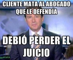 Memes de Matias - Perder el juicio