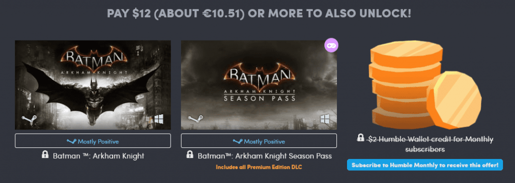 Humble Bundle WB Pack 3