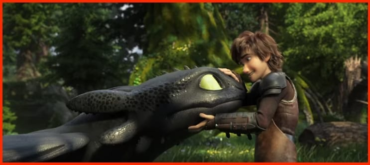 Cómo entrenar a tu dragón 3 Desdentao y Hipo