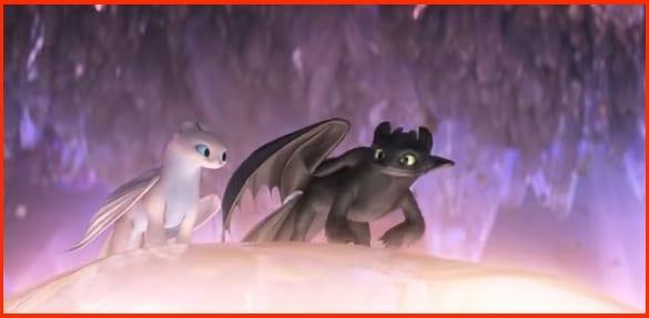 Cómo entrenar a tu dragón 3 Desdentao