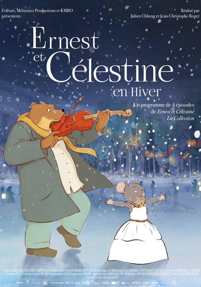 Ernest y Celestine. Cuentos de Invierno