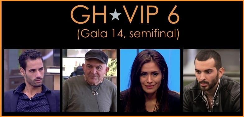 GH VIP 6 gala semifinal