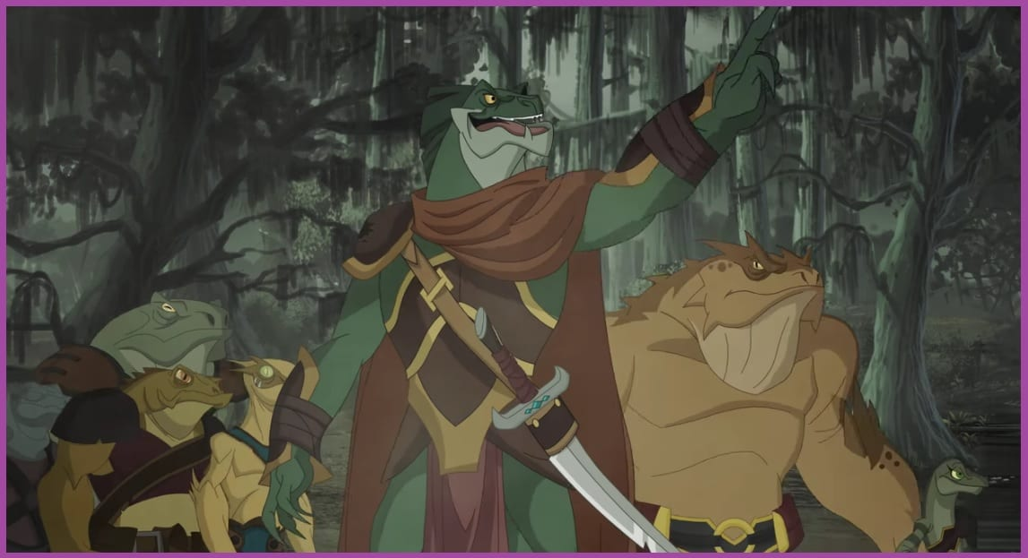 Kulipari en el mundo de los sueños Darkan y su ejército.