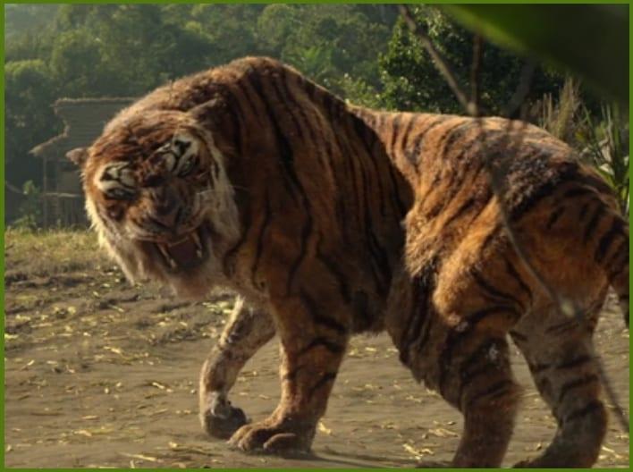 Mowgli, la leyenda de la selva Shere Khan