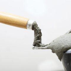 ¿Cemento solo para la obra?