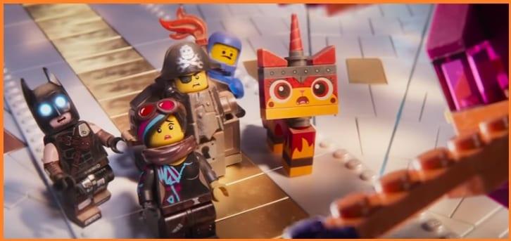 La Lego película 2 escena película