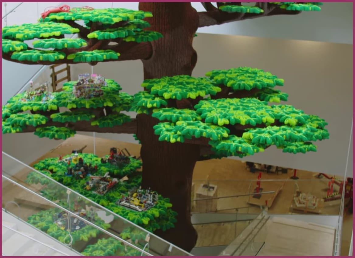 Lego House - Home of the Brick árbol