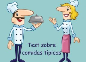 Test sobre comidas típicas