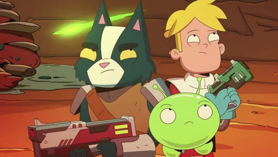Final Space Avocato, Gary y Mooncake