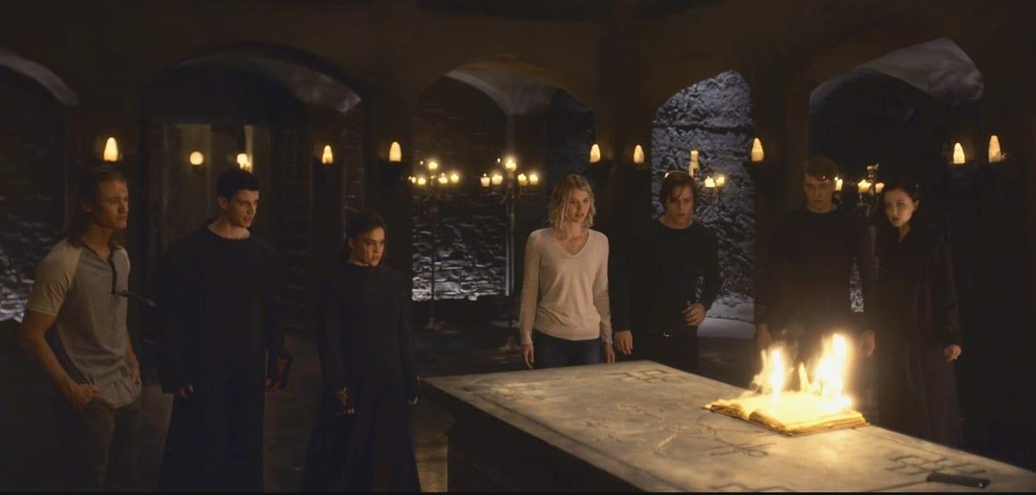 La Orden escena de la serie