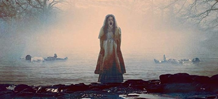 Película de terror La llorona