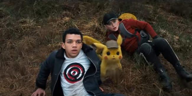 Pokémon Detective Pikachu, escena película