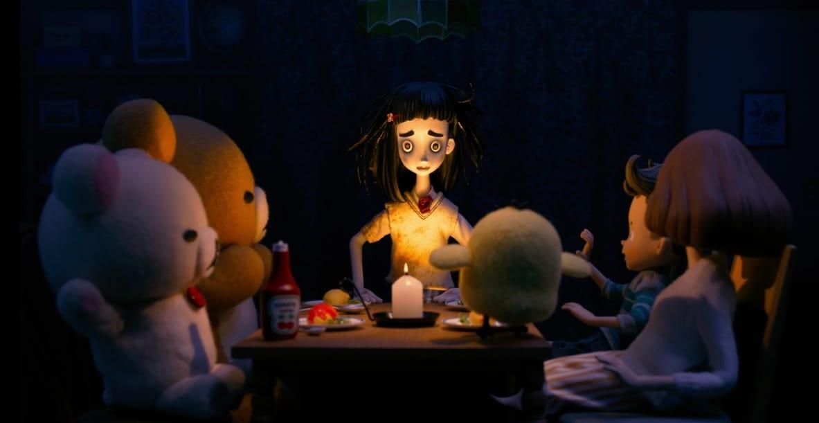 Rilakkuma y Kaoru aparece un fantasma