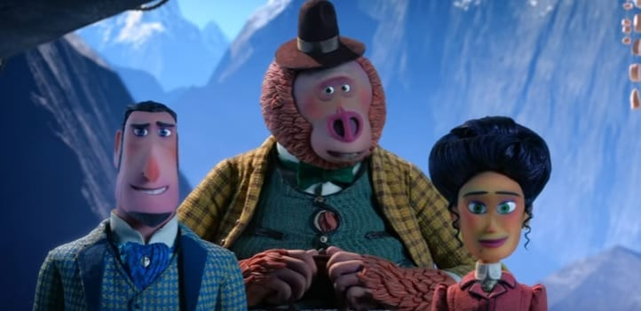 Mr. Link El origen perdido, película animación
