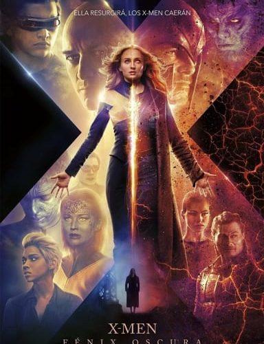 Película los X-Men Fénix Oscura