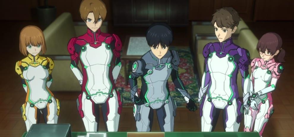Revisions,Lu, Gai, Daisuke, Keisaku y Marimari