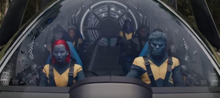 X-Men Fénix Oscura, misión rescate