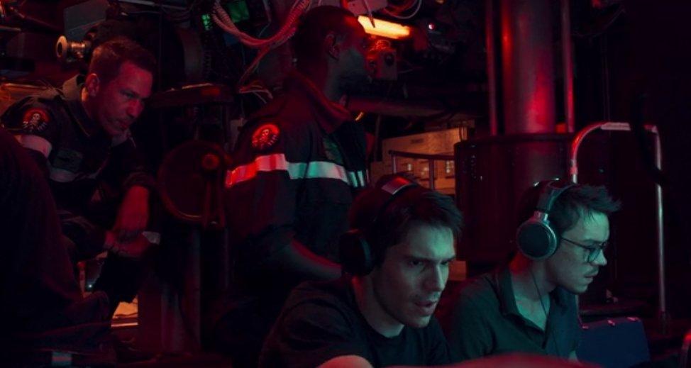 El canto del lobo, en el submarino