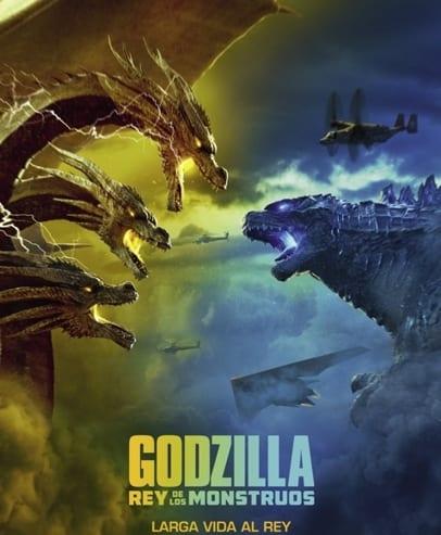 Godzilla Rey de los monstruos, cartel de la película