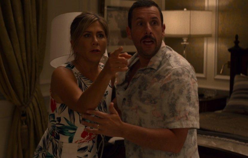 Película Criminales en el mar Audrey y Nick