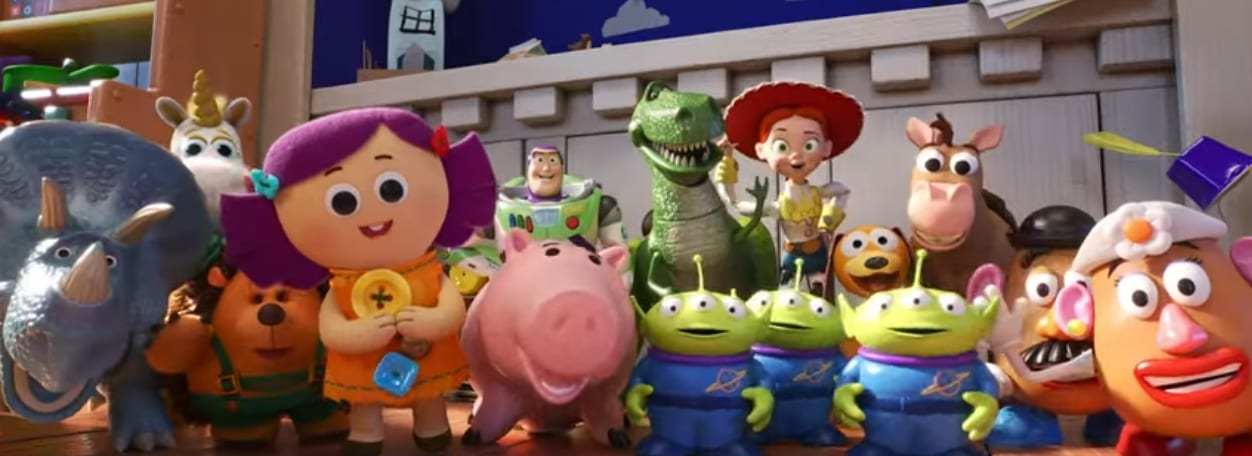 Toy Story 4, personajes