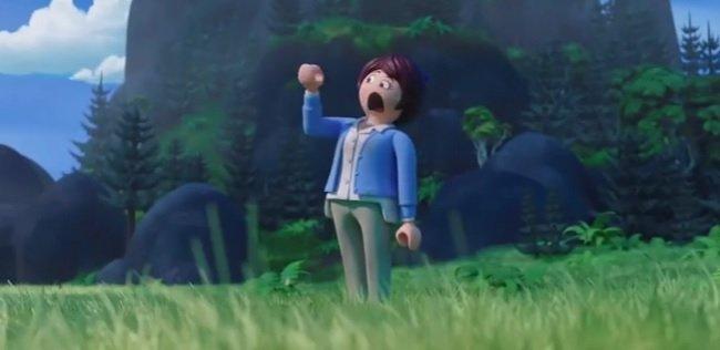 Playmobil La Película Mara siendo figura