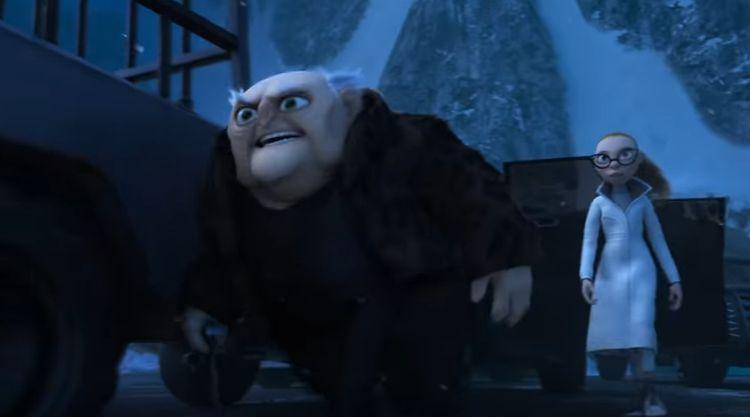 Abominable, los malvados