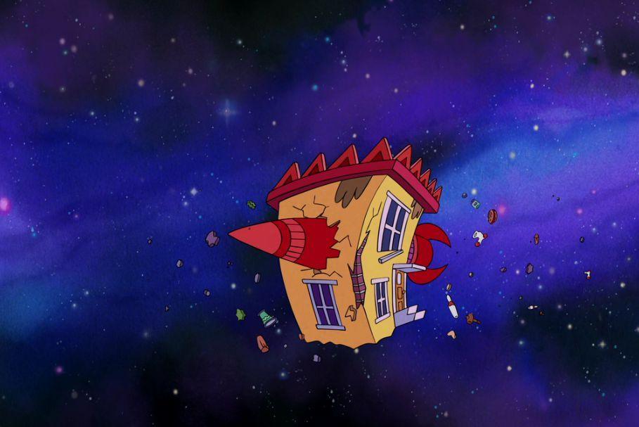 La vida moderna de Rocko, la casa en el espaccio