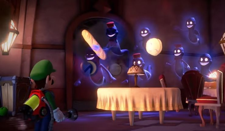Luigi's Mansion 3 muchos enemigos