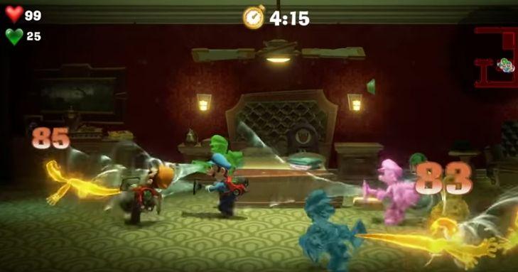 Luigi's Mansion 3 torre de los desafíos