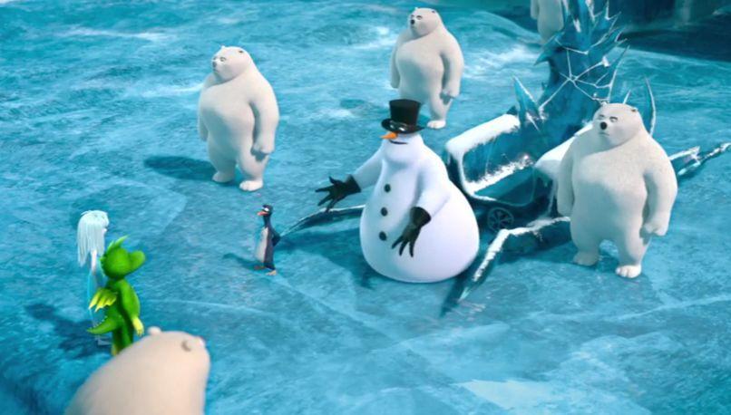 Tabaluga y la princesa de hielo, el malvado Arktos