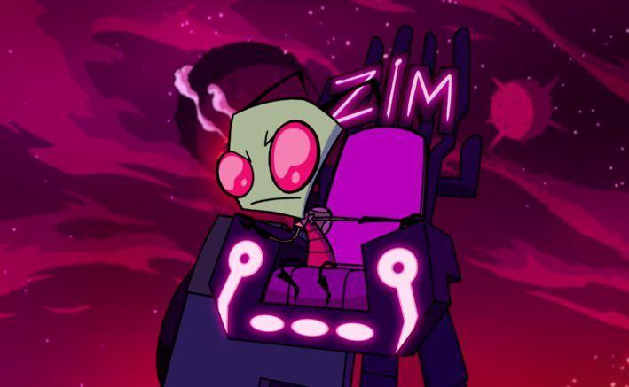 El invasor Zim y el portal mágico