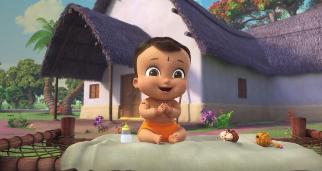 El pequeño Bheem, serie